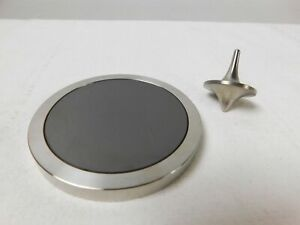 NEW Quality Spinning Tops Collection Titanium ForeverSpin Stainless Steel Block