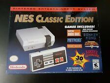 Authentic Nintendo Classic Edition NES Mini Game Console w/ 30 Built-in Games