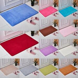 40*60 Absorbent Memory Foam Carpet Bath Bathroom Floor Shower Mat Non-slip T5Z1