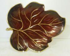 Carlton Ware Rouge Royal leaf plate