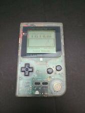 Nintendo GameBoy Pocket MGB-001 in Clear plus Tetris