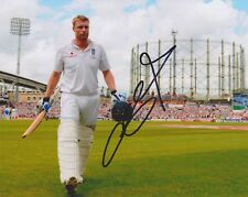 """Andrew """"Freddie"""" Flintoff HAND SIGNED 8x10 Photo, Autograph, Cricketer (B)"""