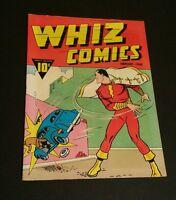 Whiz Comics #2 (1) 1940 Oversized Golden Age Replica  ☆☆☆☆ 1st Capt.Marvel