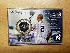 HIGHLAND MINT DEREK JETER Final Season Retirement Commemorative Coin SEALED qty