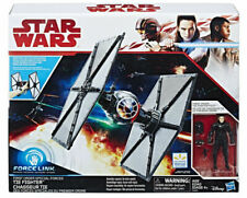 Star Wars The Last Jedi First Order Tie Fighter Vehicle Inc 10cm Pilot Figure