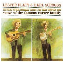 """LESTER FLATT & EARL SCRUGGS, CD """"SONGS OF THE FAMOUS CARTER FAMILY"""" NEW SEALED"""