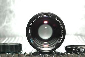 Vivitar 70-210mm f3.5 VMC Series 1 Macro Lens Canon FD .