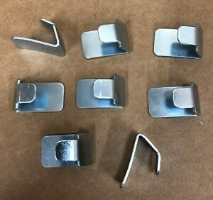 8 Shelf Clips for IKEA Fabrikor Glass Door Cabinet