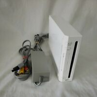 Wii Console Model NO. RVL-001 (USA) with Power Cord and AV cable Tested Working