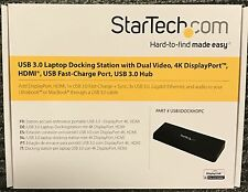 StarTech.com USB 3.0 4K Display Port USB3DOCKHDPC**NEW