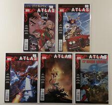 Atlas, The Heroic Age 1-5 Marvel Comics 2010 Complete Full Run Mini-Series
