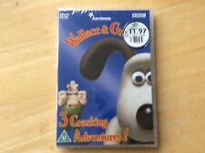 Wallace And Gromit Dvd! 3 Episodes! New And Sealed! Look In The Shop!