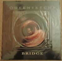 Queensryche - Bridge 7 inch picture disc vinyl single with large poster