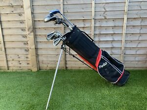Full Right Handed Golf Club Set With Stand Bag