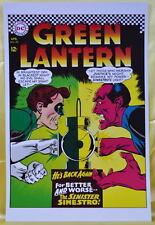GREEN LANTERN 52 COVER PRINT Sinestro