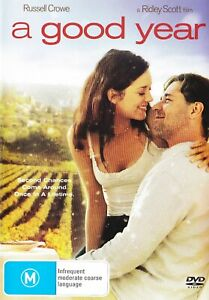 A GOOD YEAR New Dvd RUSSELL CROWE MARION COTILLARD ***