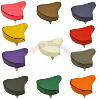 NEW! Standard Vinyl Beach Cruiser Saddle Bicycle Seat 209 Bike Seat All Colors!!