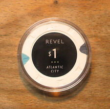 $1. Revel Hotel Casino Chip - Atlantic City, New Jersey - 2012 - Paulson