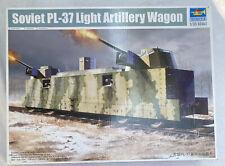 Trumpeter 1/35 Scale Soviet PL-37 Light Artillery Wagon Armored Train Car