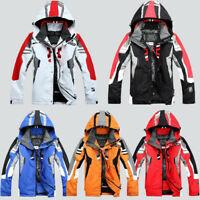 Men's Winter Ski Suit Jacket Waterproof Coat Snowboard Snowsuits Windproof Warm