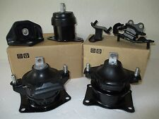 Fits 2003 2005 Honda Accord Set Of 6 Motor Transmission Mounts 3 0l V6 At