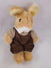"Rabbit Bunny Plush in Corduroy Outfit 11"" Korea"