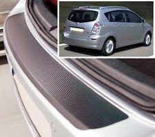 Toyota Corolla Verso - Carbon Style rear Bumper Protector