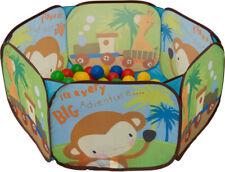 Bällebad Tiere Pop-Up incl. 100 Bälle Kugelbad Babybad Babyzelt Spielzelt Ball