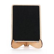 Wooden Table Blackboard Wedding Party Stand Message Notes Board Chalkboard Decor