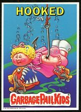 "1986 1st Series, Giant 5""x 7"" Hooked on Garbage Pail Kids - #6"