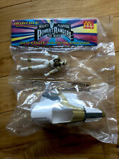 1994 McDonald?s Mighty Morphin Power Rangers White Ranger Falcon Ninjazord Toy