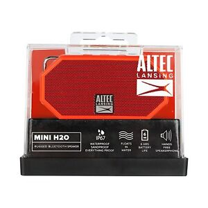 Altec Lansing Mini H20   new new new