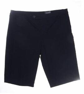 Style & Co. Tummy-Control Bermuda Shorts Black Size 18