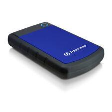 "Hard Disk Esterno Transcend TS2TSJ25H3B USB 3.0 2TB 2,5"" Blue Shockproof"