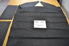 1968 68 1969 69 CAMARO FIREBIRD BLACK SUEDE LOOK CUSTOM HEADLINER USA MADE
