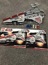 Lego Star Wars 8039 Venator-Class Republic Attack Cruiser 100% Complete!