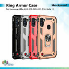 Shockproof Rugged Stand Ring Case For Samsung A20e A50 A10 S20 A51 A12 Note 20 +