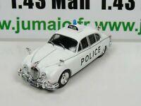 PM4K 1/43 IST déagostini Police du Monde :  Jaguar MkII Police UK