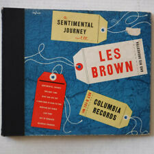 SENTIMENTAL JOURNEY – LES BROWN & HIS ORCH. - 10 INCH DISC COLUMBIA 78 RPM ALBUM