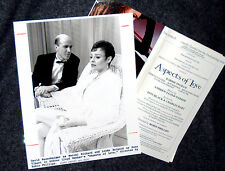 """Aspects of Love""-Kennedy Center Stagebill + Photo"
