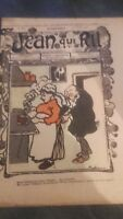 Revista Jean Que Rit N º 389 1908 Journal Demuestra que Aparecen El Viernes ABE
