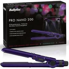 Babyliss Nano Pro 200 Lisseur à Cheveux Céramique Double Tension