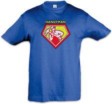 Handyman Kinder Jungen T-Shirt Heimwerker Handwerker Handwerk Hammer Werkzeug