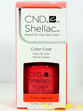 CND Shellac Gel Polish UV/LED Gel Color Base Top Coat /Choose Any Color PART C*