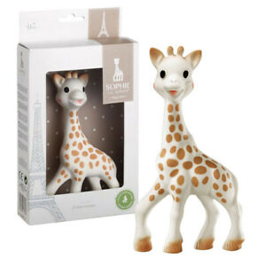 SOPHIE THE GIRAFFE TEETHER -Famous Baby Toy By Vulli 100% Genuine *FREE DELIVERY