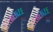 Triennale di Milano, XIX. Identity and Difference. Ricoeur Lyotard Bonito Oliva