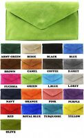 Latest Girls Prom Party Fancy Suede Leather Clutch Bag Women Ladies Chain Strap