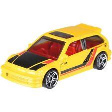 NEW Hot Wheels 2018 70th Anniversary 1990 Honda Civic EF Yellow  Limited Edition