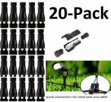 20-pack  Light Wire Connectors, Low Voltage for Landscape light 12-16 Gauge