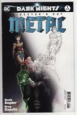 DARK NIGHTS: METAL DIRECTOR'S CUT #1 DC Comics Batman Superman Wonder Woman Days